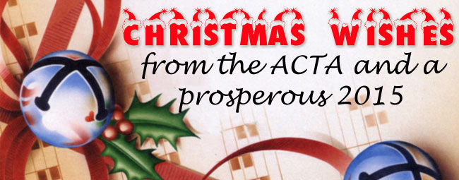 Merry Christmas from the ACTA!