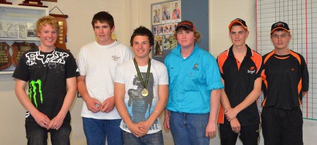 Australia NZ postal match junior team 2011.JPG